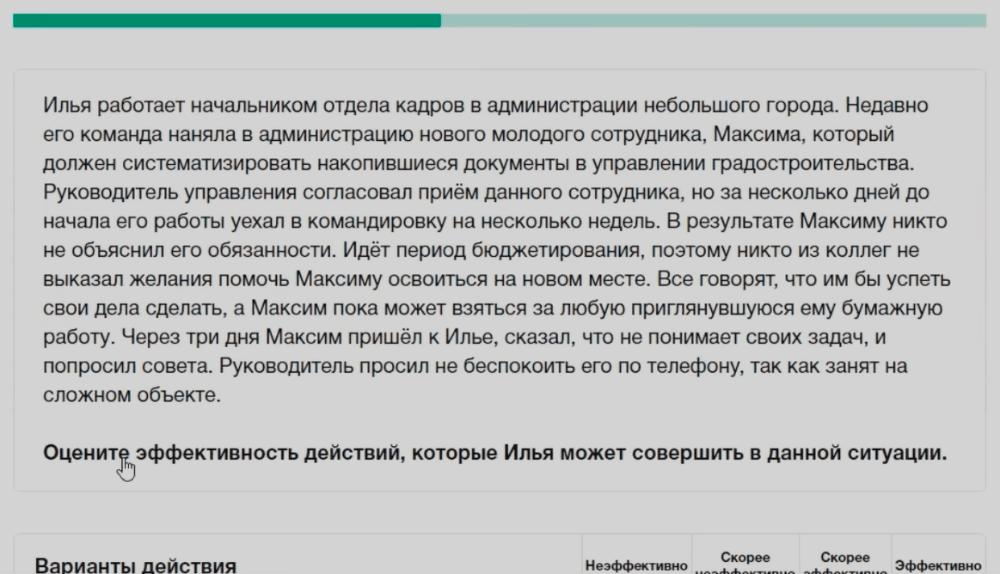 управленческий тесту лидеры россии
