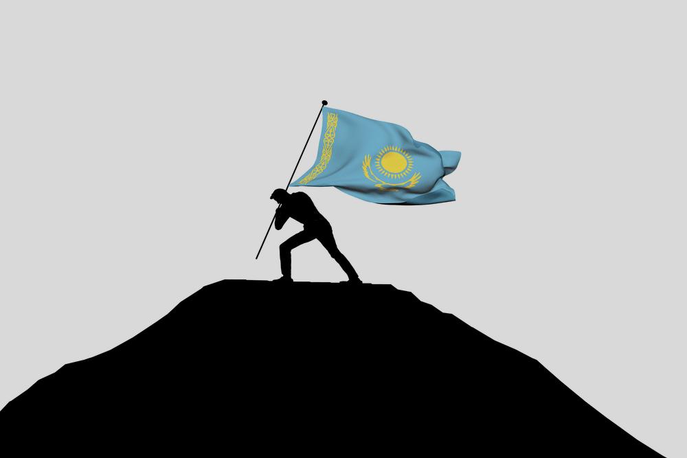 лидер казахстана попадает на вершину