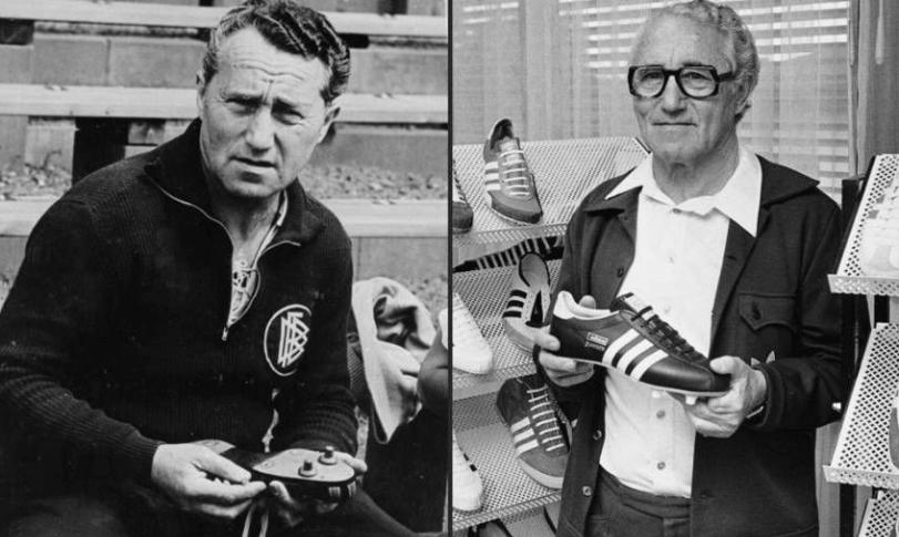 adidas в прошлом и настоящем